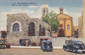 Old Guadalupe Mission, Built In 1549, Juarez, Old Mexico, 1930-1940s