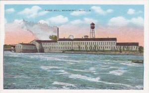 Michigan Menominee The Paper Mill