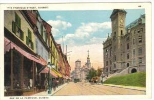 Fabrique Street , Quebec , Canada , 1910s