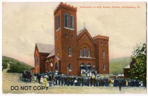 Dedication of Holy Rosary Church, Johnsonburg PA