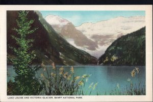 AB Lake Louise and Victoria Glacier BANFF National Park - Bryon Harmon WB C.P.R.