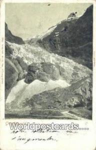Grindelwald Germany, Deutschland Postcard Oberer Gletscher Grindelwald Oberer...