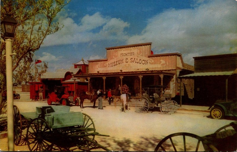 Nevada Las Vegas The Last Frontier Village Frontier Museum and Saloon