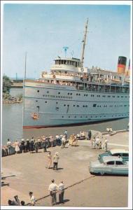 NY - Buffalo. SS South American, Lackawanna Terminal