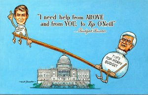 Political Humour Ronald Reagan Budget Buster