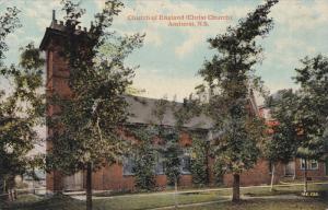 Church Of England (Christ Church), AMHERST, Nova Scotia, Canada, 1900-1910s