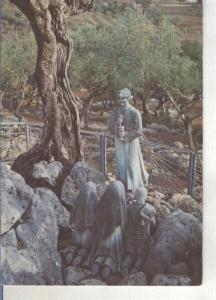 Postal 014321. Angel dando la comunion, Fatima, Portugal