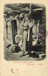georgia russia, TBILISI TIFLIS, Caucasian Types, Femme Touchine (1899)