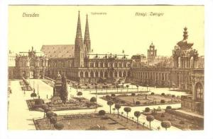 Konigl, Zwinger, Dresden (Saxony), Germany, 1900-1910s