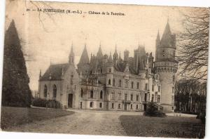 CPA La Jumelliere - Chateau de la Fautriere (165158)