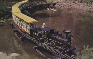 Miniature Train , Stanley Park , Vancouver , B.C. , Canada , 1940-60s