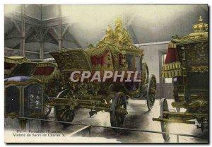 Postcard Old Versailles Trianon Charles X coronation Car