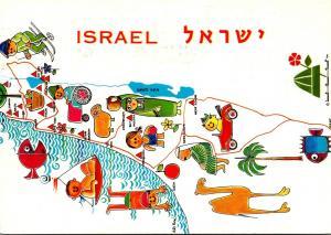 Israel Map 1971