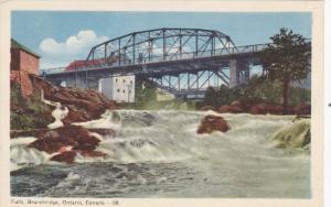 Falls, Bridge, BRACEBRIDGE, Ontario, Canada, 1930-1940s