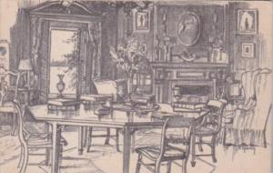 Massachusetts Gloucester Octagonal Room At Beauport Eastern Point