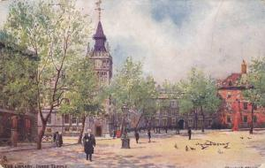 TUCK #1538, The Library, Inner Temple, Charles E. Flower, PU-1906