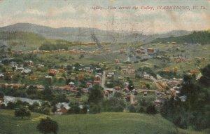 CLARKSBURG , West Virginia, 1908; View across the Valley