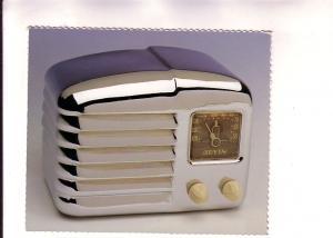 Silver Arvin Radio, Garry Brod 1993, Zephyr Press, Printed in Korea