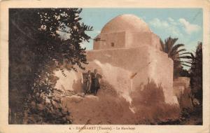 Tunisia Hammamet Le Marabout Postcard