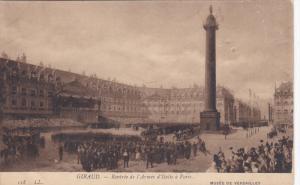 GIRAUD, France, 1900-1910's; Rentree De L'Armee D'Italie A Paris