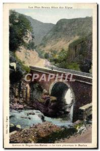 Old Postcard Digne Les Bains Picturesque Route De Barles