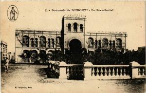 CPA Djibouti- Le Secretariat SOMALIA (831259)