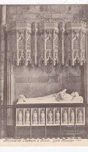 England York Minster Archbishop Thomson's Tomb