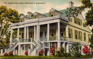 Mississippi Pascagoula The Longfellow House