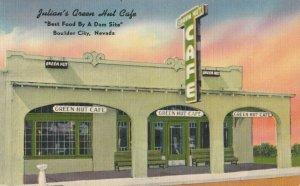 BOULDER CITY , Nevada , 1930-40s ; Julian's Green Hut Cafe