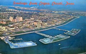 TX - Corpus Christi, Aerial View