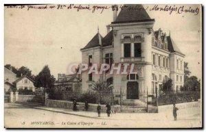 Old Postcard Montargis Bank Caisse d & # 39Epargne