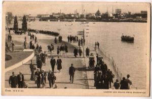 Chicago World's Fair, Lagoon & Island from Broadwalk