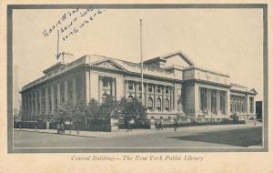 Central Building at Public Library NYC, New York City