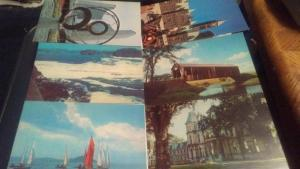 COLLECTION OF CANADIAN POSTCARDS FROM POST OFFICE,1960S, 18