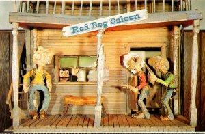 South Dakota Custer Museum Of Western Woodcarvings Red Dog Saloon
