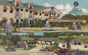 WALTERBORO , South Carolina , 30-40s ; Lady Lafayette Tourist Cottages