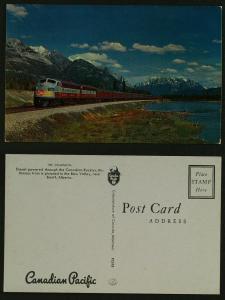 The Dominion Train Canadian Pacific Banff Alberta c1960s