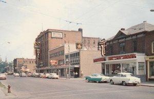 CORNWALL, Ontario, Canada, PU-1962; Second Street looking East