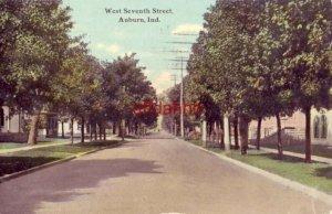 WEST SEVENTH STREET, AUBURN, IN. 1911