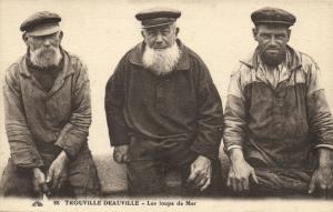 CPA TROUVILLE DEAUVILLE - Les loups de Mer (140983)