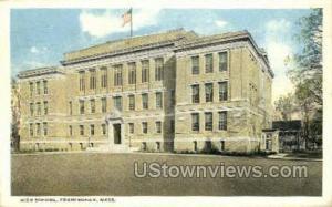 High School Framingham MA 1917
