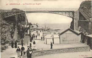 CPA GRANVILLE - Le Tranchée aux Anglais (1004)