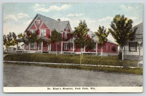 Park Falls Wisconsin~Dr Riley's Hospital~House Next Door~Stitches Out~1917 PC