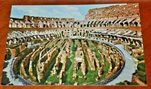 Rome Roma Colosseum Italy Postcard fotocolor Kodak Ektachrome Multigraf Terni