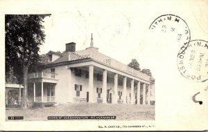 Virginia Mount Vernon Home Of Washington 1906