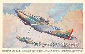 Boulton Paul Defiant MK I Unused