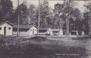 Pennsylvania Cabin Row At Lutherlyn Camp Near Prospect