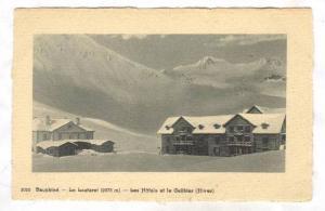 Les Hotels Et Le Galibier (Hiver), Dauphiné (Isère), France, 1900-1910s
