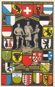 Switzerland Regional Coats of Arms