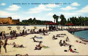 Florida St Petersburg Municipal Beach